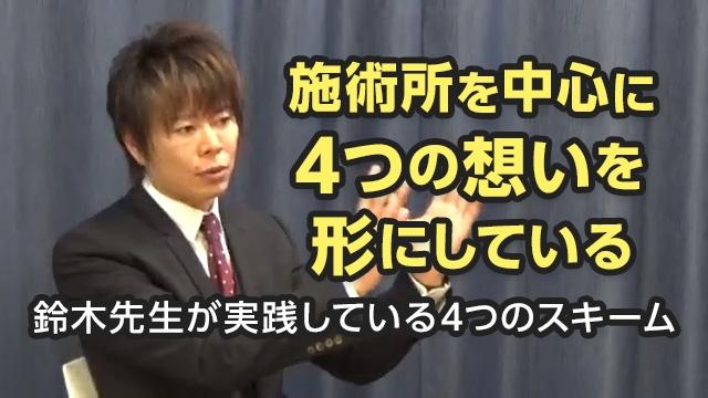 鈴木先生が実践している4つのスキーム