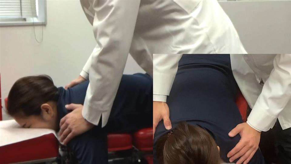 胸部側屈変位