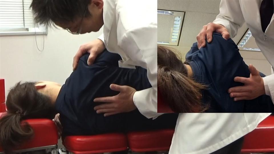 胸部側屈変位(側方・側面)