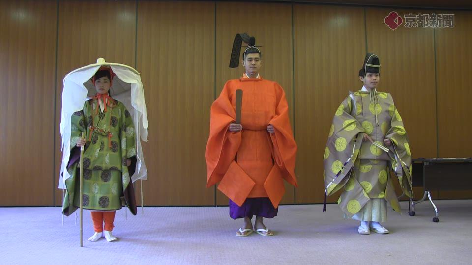 時代祭・新調衣装発表(2016年10月11日)
