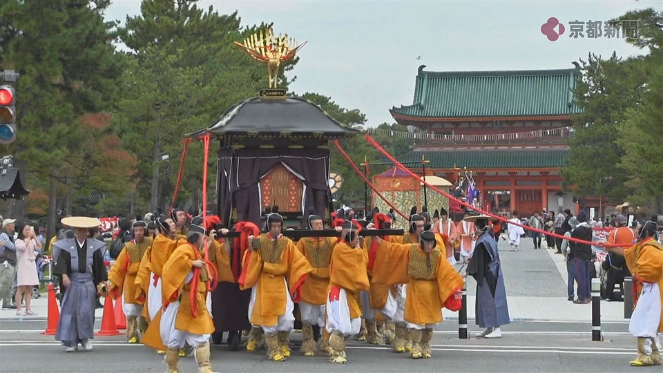 【速報】時代祭、予定通り実施(2016年10月22日)