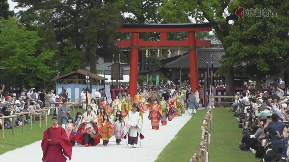 葵祭・加茂街道~上賀茂神社(2017年5月15日 京都市北区)