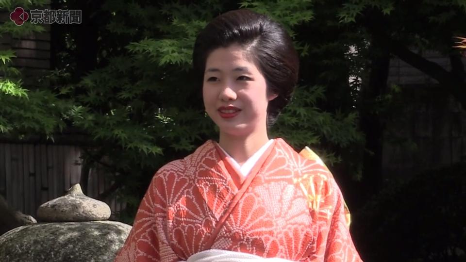 葵祭・斎王代に坂下志保さん(2018年4月13日)