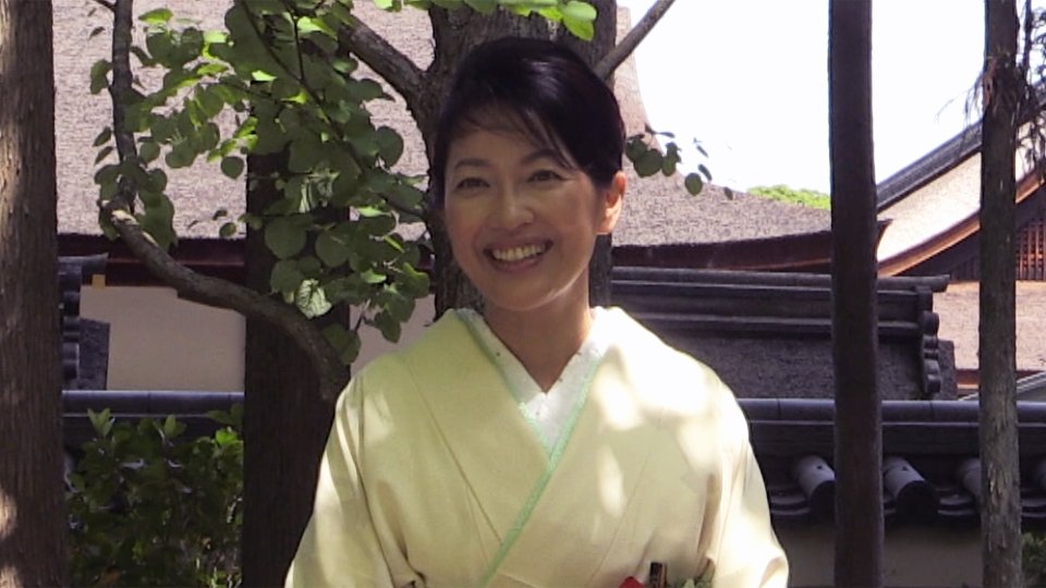羽田美智子さん「社頭の儀」に参列(2018年5月15日)