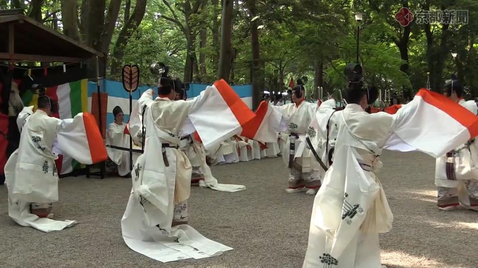 御蔭祭・切芝神事(2018年5月12日)