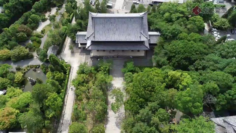 ドローン空撮企画ソラドリ「知恩院の三門」(2018年6月14日)