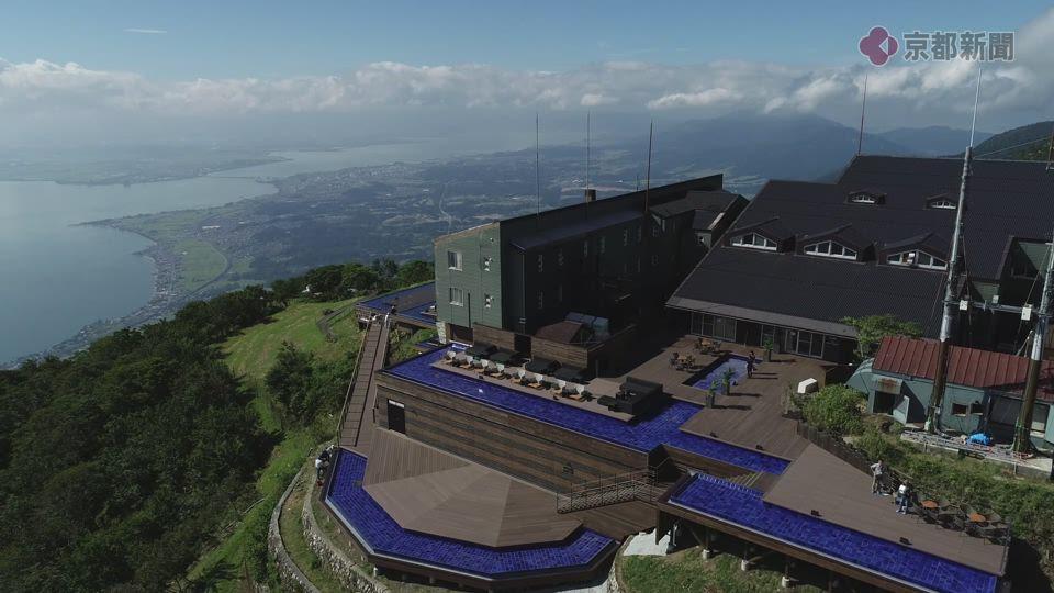 ドローン空撮企画ソラドリ「びわ湖テラス」(2018年8月9日)