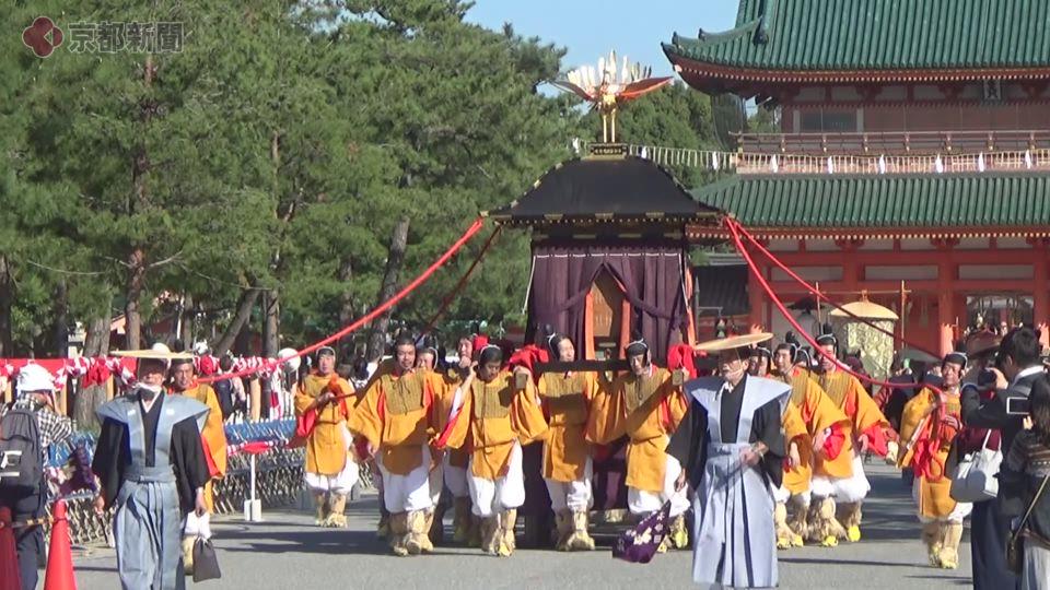 時代祭・神幸列(2018年10月22日 京都市左京区・平安神宮前)