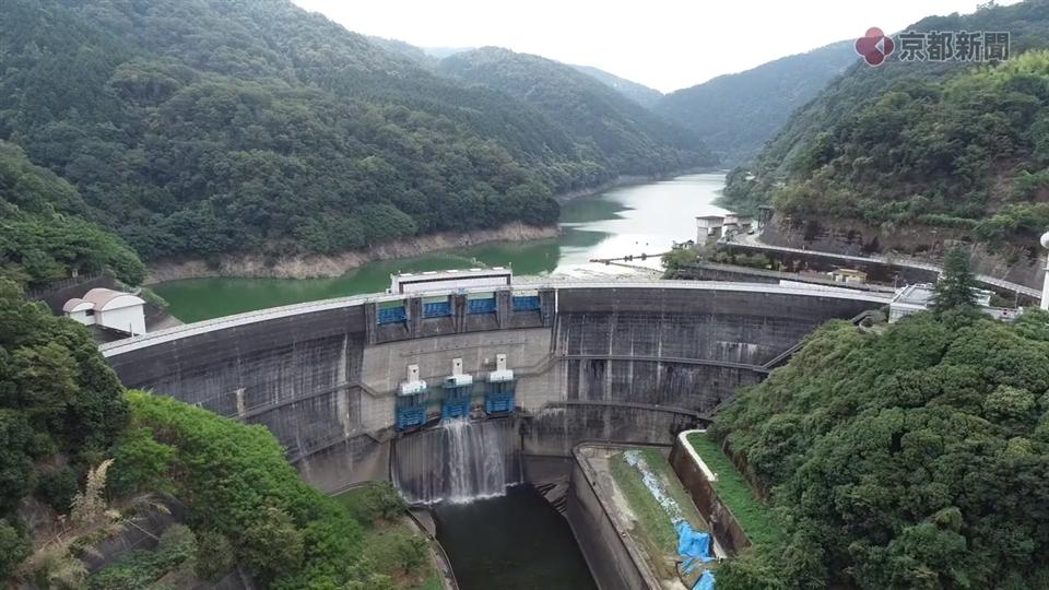 ドローン空撮企画ソラドリ「天ヶ瀬ダム」(2018年9月13日)