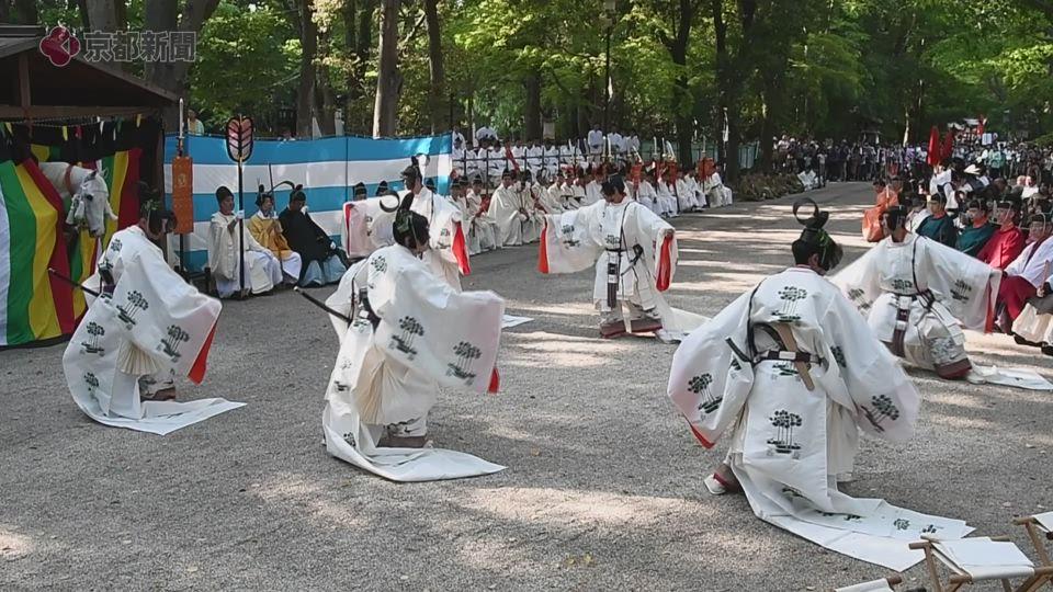 御蔭祭(2019年5月12日 京都市左京区)