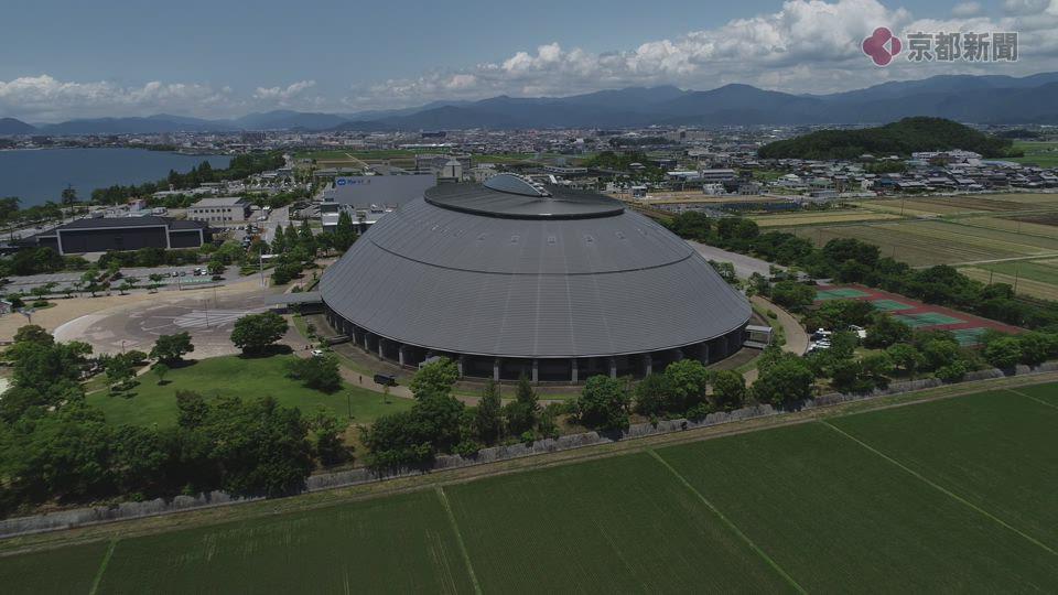 ドローン空撮企画ソラドリ「長浜バイオ大学ドーム」(2019年7月28日)
