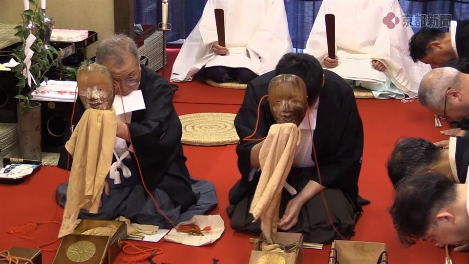 祇園祭 船鉾「神面改め」(2019年7月3日)
