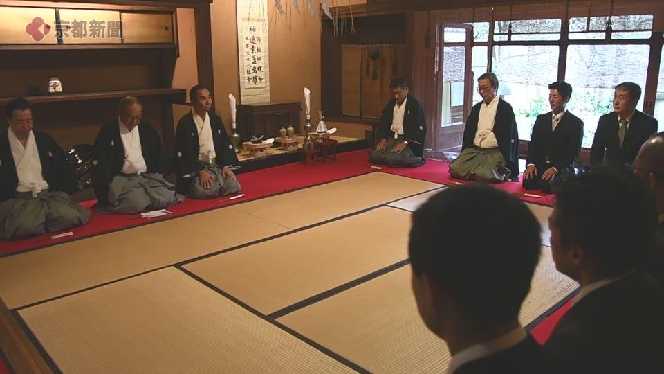 祇園祭・鷹山「吉符入り」(2019年7月5日 京都市中京区)