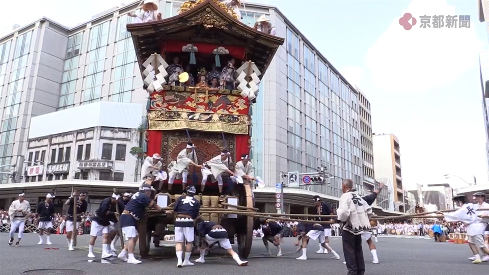 祇園祭・前祭の山鉾巡行(2019年7月17日)