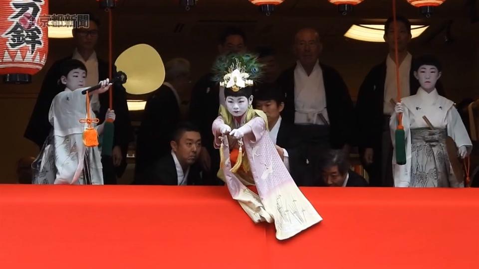 祇園祭・長刀鉾「吉符入り」(2019年7月5日 京都市下京区)