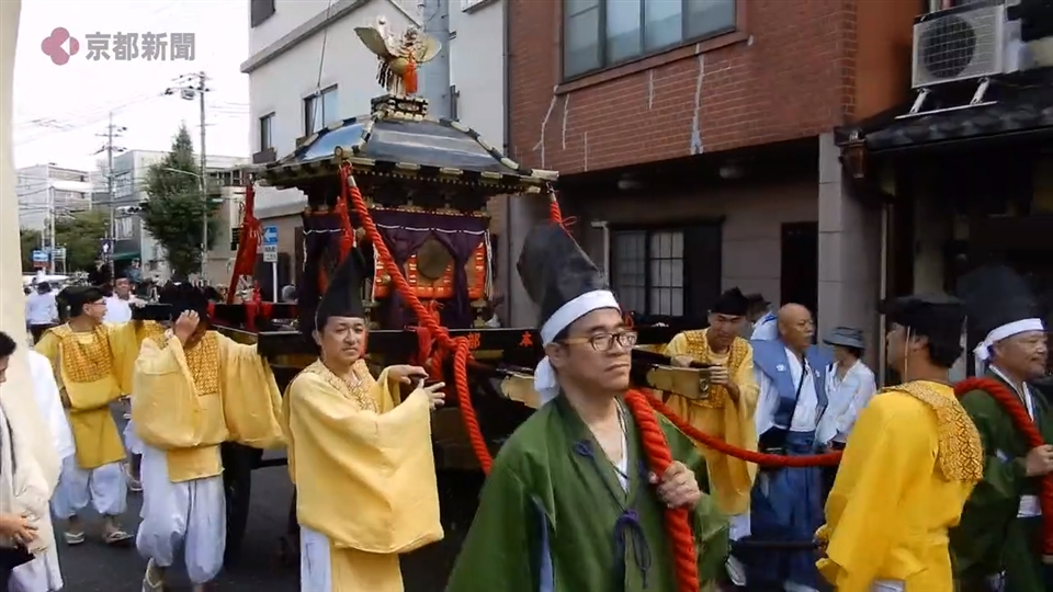北野天満宮「ずいき祭」(2019年10月1日 京都市上京区)