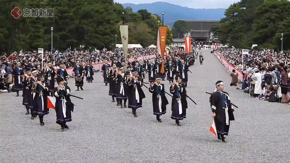 時代祭(2019年10月26日 京都市上京区・京都御苑)