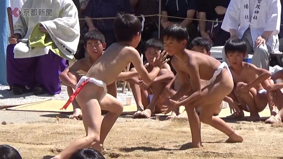 上賀茂神社の烏相撲(2019年9月9日 京都市北区)