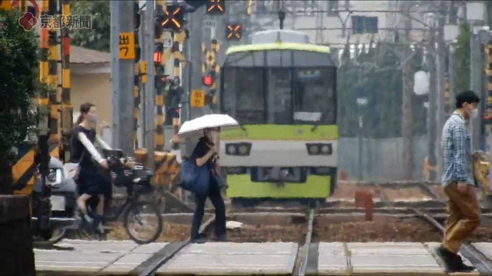 京都で今年最高の36・5度を記録(2020年8月5日 京都市内)