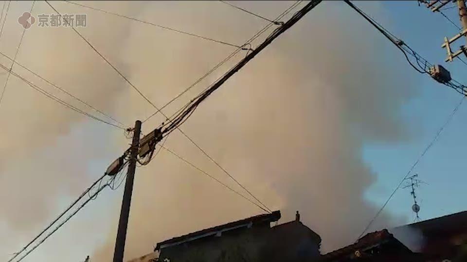 京都府向日市で民家火災、1人死亡(2020年11月18日)