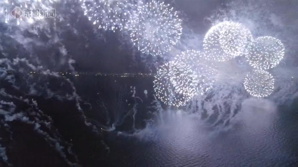 びわ湖花火大会(2021年3月5日 大津市)