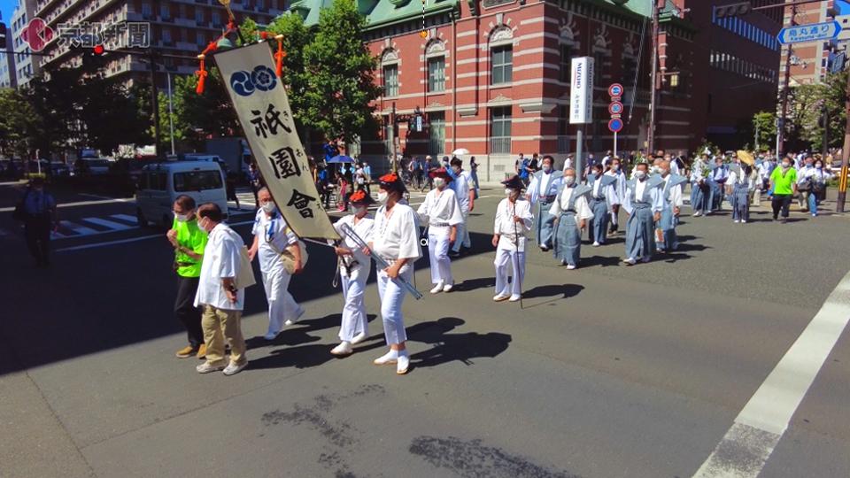 【2021祇園祭】後祭「拝礼巡行」(2021年7月24日 京都市内)